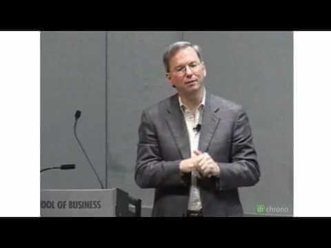 Eric Schmidt of Google on Healthcare Pandemic Flu Trends
