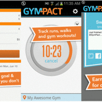 Mobile app to track workouts